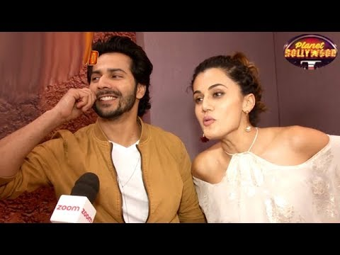Taapsee Pannu Laughs Off Rumors About Varun's Closeness To Her   Bollywood News