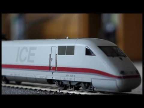 Trix HO ICE 1 401 22480 digitalisiert und neu motorisiert