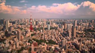 Tiny Tokyo time lapse 2014 by Day and Night