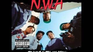 N.W.A. Gangsta Gangsta (Lyrics)