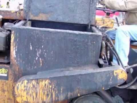 sealcoat squeegee machine