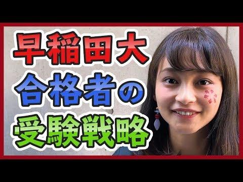 早稲田大合格者の受験戦略塗りつぶせ