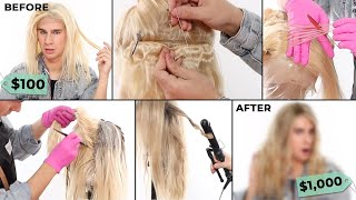 Download Turning a $100 Wig Into A $1,000 Wig Mp3 and Videos