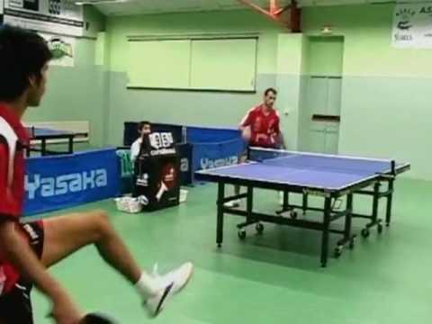 Championnat de france par quipe de tennis de table n mes youtube - Equipe de france de tennis de table ...