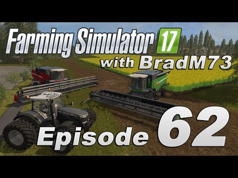 Farming Simulator 17 - Let's Play! - Episode 62 - Seeding and Grass with Courseplay!!