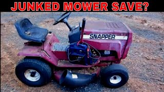 Can We Fix The Damage? Free Snapper Mower.