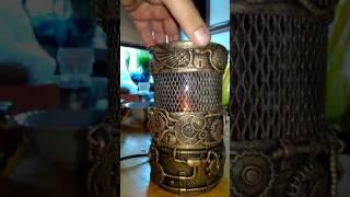 Стимпанк лампа проект 3