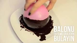 Çikolatadan Dondurma Kasesi Nasıl Yapılır