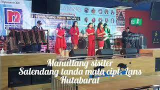 Manullang Sister cover lagu salendang tanda mata.