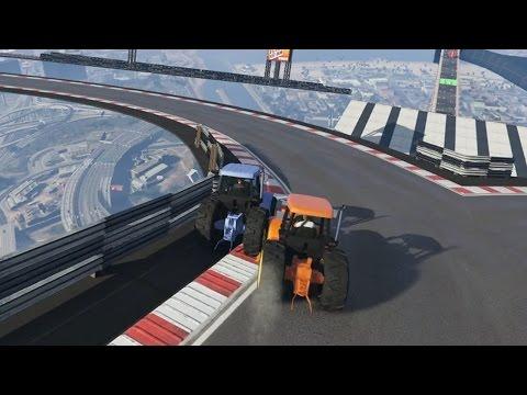 DE MEESTE DRAAIERIGE RACE OOIT! (GTA V Online Funny Races)