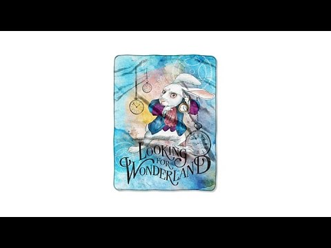 Looking for Wonderland Ultra Soft Oversized Throw