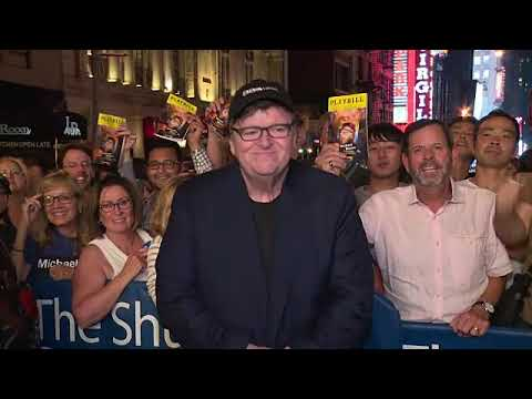 EVENT CAPSULE CLEAN – Academy Award-Winning Filmmaker & Political Icon Michael Moore Makes His Broad