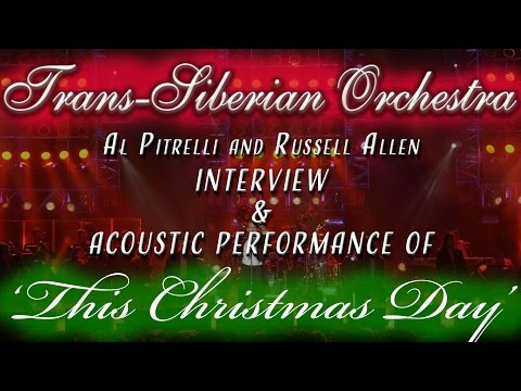 Trans-Siberian Orchestra interview and performance of THIS CHRISTMAS DAY