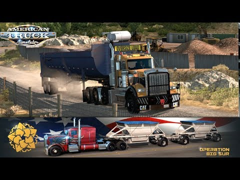 FIRST LOAD ONLINE!!! OPERATION BIG SUR !! | AMERICAN TRUCK SIMULATOR ONLINE