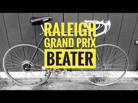 Vintage Raleigh Grand Prix Beater Bike