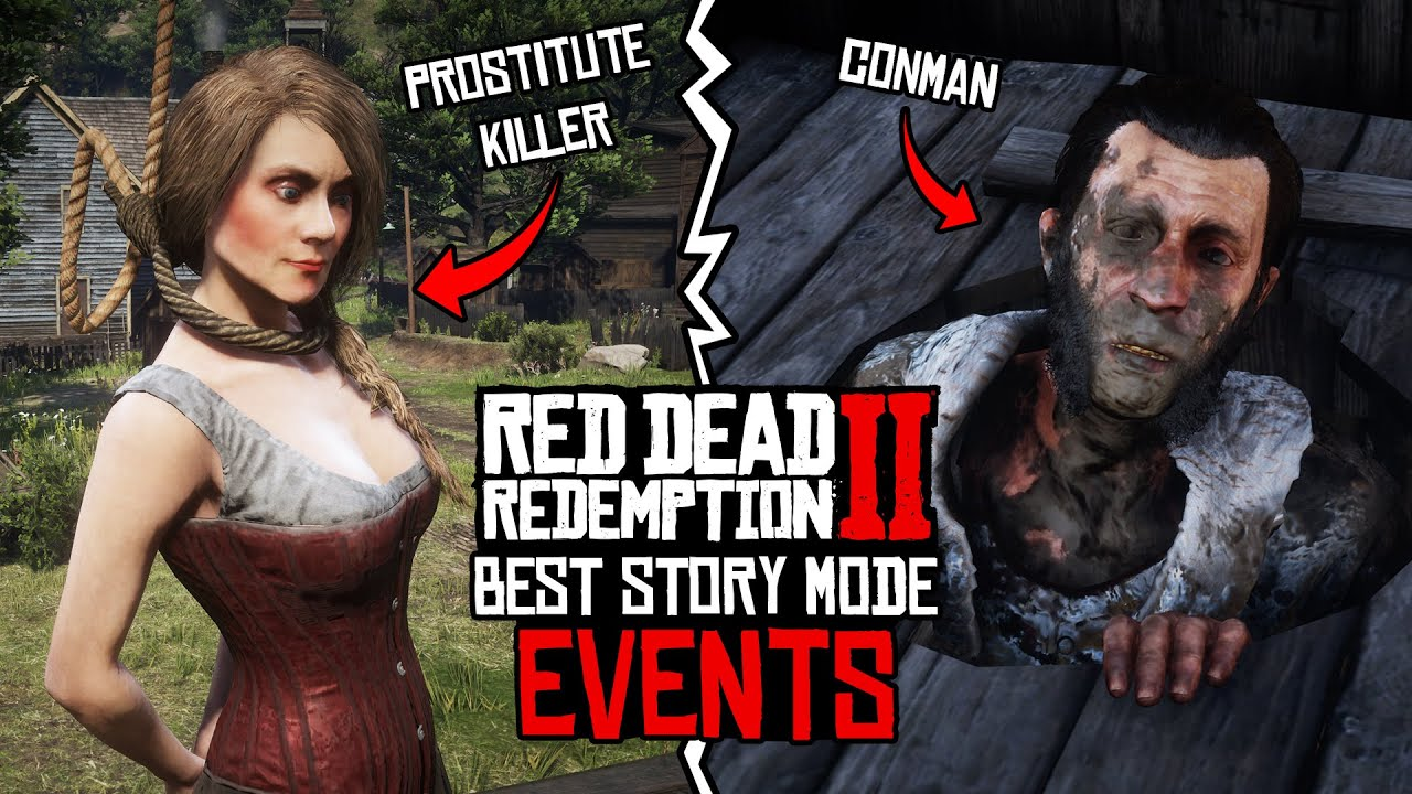 Red Dead Redemption 2 - Best Story Mode Events! (TOP 10)