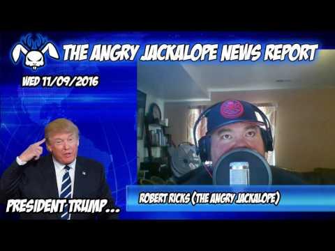 Angry Jackalope News Report - 11/09/16