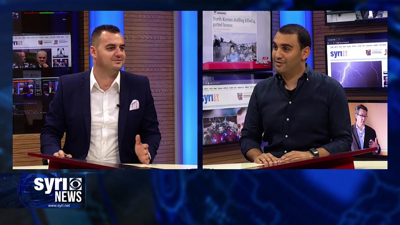 Intervista ne Syri.Net i ftuar ne studio Belind Kellici