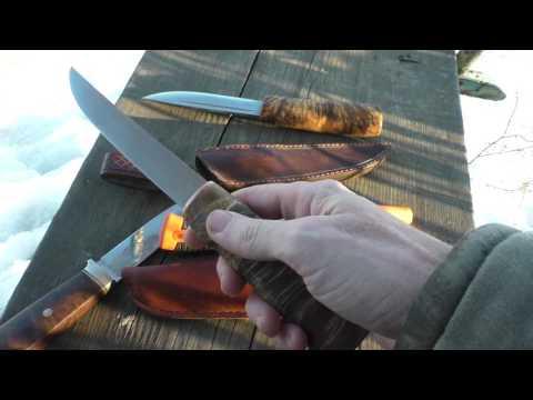 нож рыбака видео