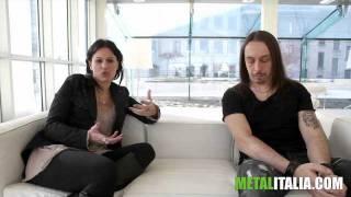 Lacuna Coil: Andrea e Cristina presentano Dark Adrenaline