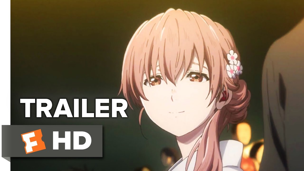 A Silent Voice Trailer #10 (20107)  Movieclips Indie