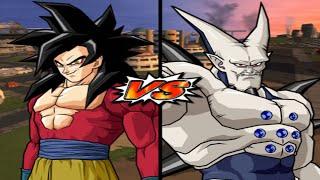[TAS] DBZ BT3: Goku (GT) Vs. Omega Shenron (Super Enhanced Red Potara) (Request Match)