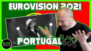 PORTUGAL EUROVISION 2021 REACTION: The Black Mamba - Love Is On My Side // ANDY REACTS!