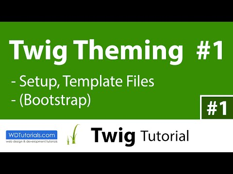 How To Start Theming With Twig (1/6)