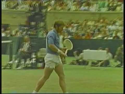 Arthur Ashe vs Cliff Richey 1972 U.S. Open Forest Hills NY