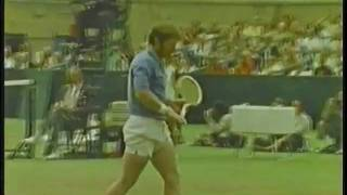 Arthur Ashe vs Cliff Richey 1972 U.S. Open Forest Hills NY