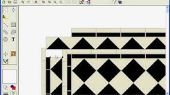 victorian floor created with Precision Tile Software