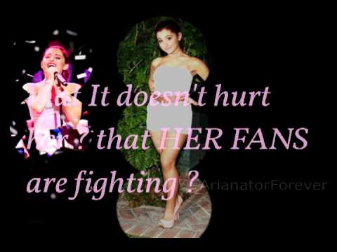 Dear Ariana Army, #StopTheHate & #FightWithLove .♥