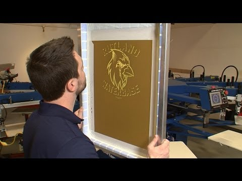 Printing with WB99 Discharge Ink by Rutland