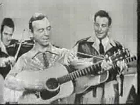 HANK SNOW.  Canadian Country Music Legend on The Perry Como Show 1959
