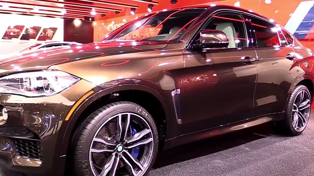 2019 Bmw X6 M Brown Premium Features New Design Exterior Interior