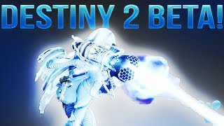 DESTINY 2 BETA DETAILS! (Beta Release Date, Beta Content, Full Interview, Secrets, PC And More!)