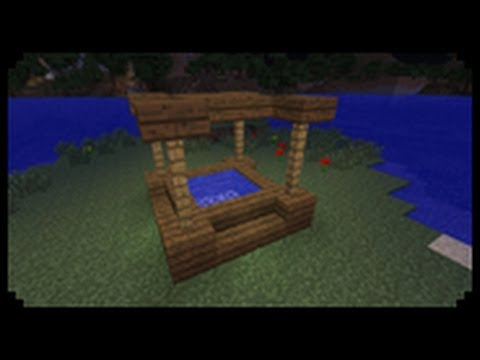 how to build a hot tub in minecraft