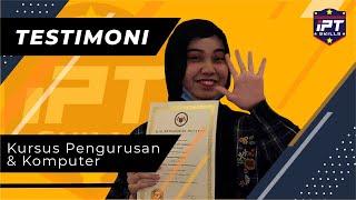 Pengurusan Pejabat I Testimoni Pelajar IPTSkills – Fatin Diyana