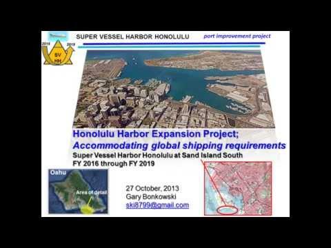 Honolulu Harbor Expansion Project Proposal Part I