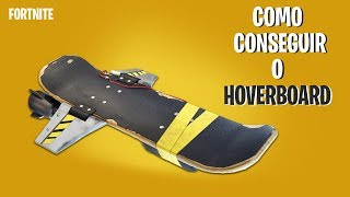 Fortnite-How to get the HOVERBOARD!