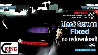 NFS Most wanted android Black screen / Graphic Fix 2017
