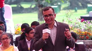 Siddharth Sarma at Junior Kolkata Literary Meet 2019