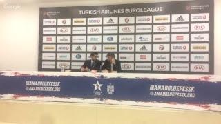 Anadolu Efes - Unicaja Malaga Basın Toplantısı