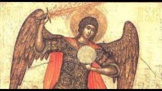 Архангела Михаила  и методы чистки с помощью церковного воска