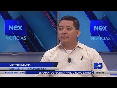 Entrevista al dirigente transportista Victor Ramos, sobre el cobro el efectivo de UBER