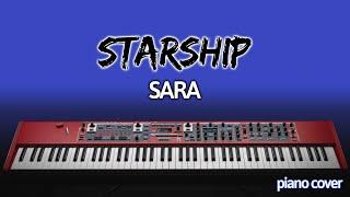 Piano Cover: Sara [Starship]