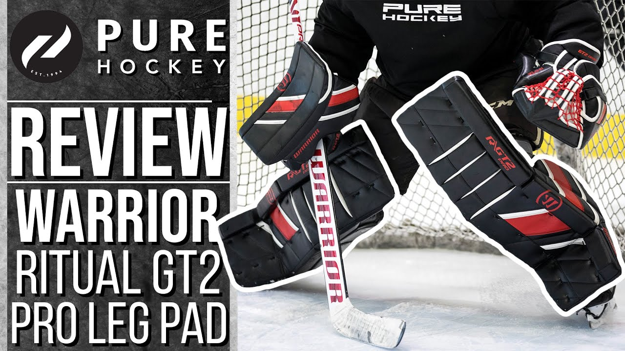 Warrior Ritual Gt2 Pro Goalie Leg Pads Product Review Youtube