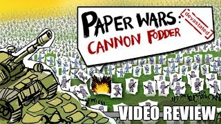 Review: Paper Wars - Cannon Fodder Devastated (Switch) - Defunct Games