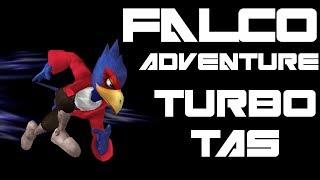 Falco Adventure - Turbo TAS (Very Hard, No Damage) - SSBM