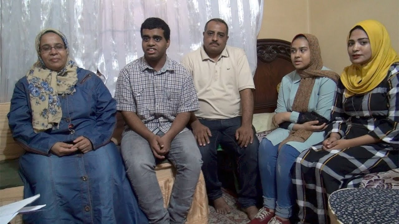 الوطن المصرية:الأول على ثانوية عامة للمكفوفين: أهلي سر تفوقي وبحلم بكلية الألسن